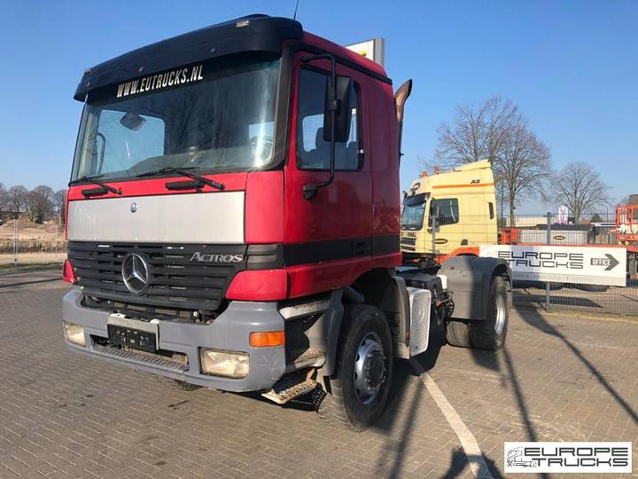 Mercedes-Benz Actros 2043 AS Full Steel - Big axle - Manual gearbox - 2000