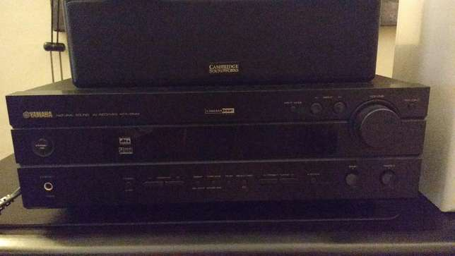 Yamaha A/V Receiver with Bose Speakers - Home Theater Nyali - image 3