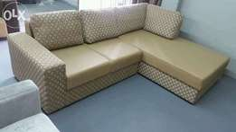 Scarlet 2 seat couch with daybed direct from factory