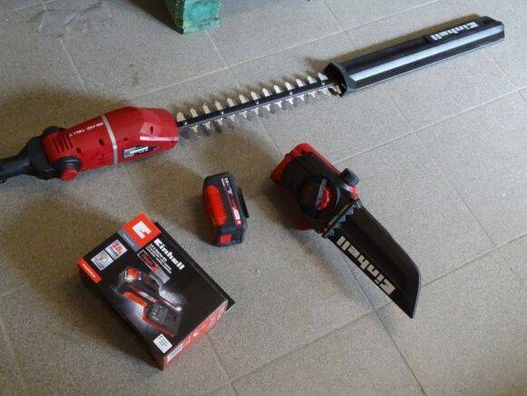 Saw Hedge trimmers, Pole  hedge trimmer for sale by auction