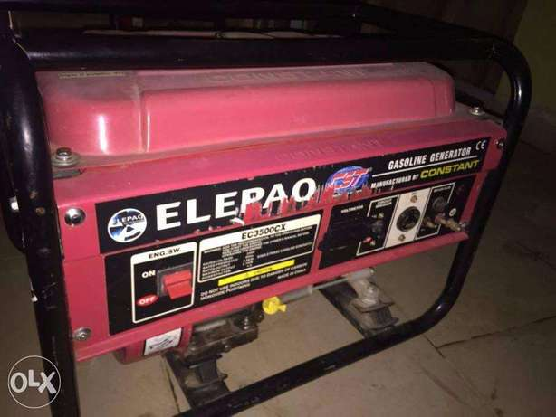 Fairly Used ELEPAC CONSTANT GENERATOR ,its in a perfect working state. Abeokuta South - image 1