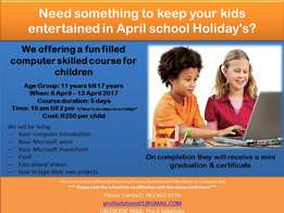 Educational fun filled computer lessons for kids