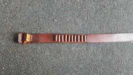 Leather hunting belts