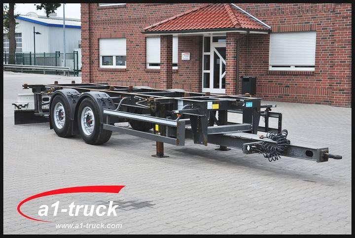 Schmitz Cargobull ZWF 18 Midi Tandem, 7.45/7.82 BDF 1120/1320mm - 2014