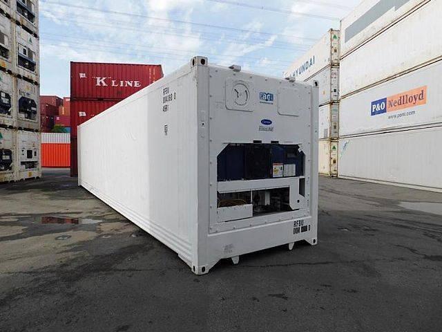Carrier 40 ft. hc  kühlcontainer kühlzelle kühlbot - 2004