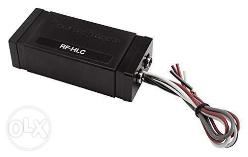 Rockford RFHLC High Level Speaker Signal to Low Level RCA Adapter