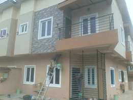 brand new four bedroom duplex with bq.