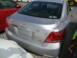 Toyota Allion Newshape. 1800cc Valvematic 2010 model. KCM number. Loa