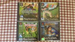 PlayStation Games (4x)