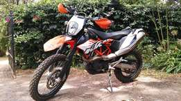 KTM 690 Enduro off-road bike