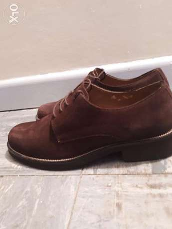 Brown suede shoes Hurlingham - image 3