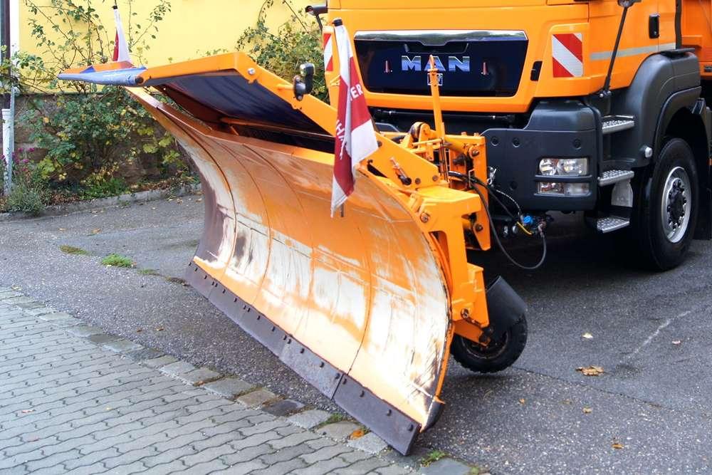 Springer SHE-A 4104 / + Seitenpflug / Schneepflug / Schneeschild - 2005 - image 4