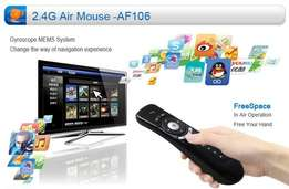 Variety of tv box remotes and Airmouse