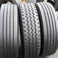 Truck tyres for long distances