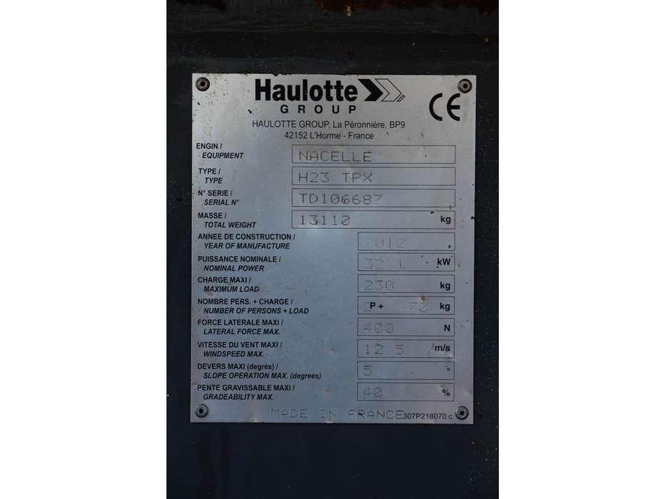 Haulotte H23TPX - 2012 - image 6