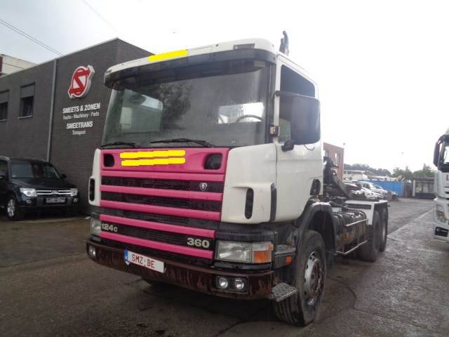 Scania 124 360 6x4 Steel Lames - 1998