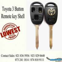 New stock just arrive for Toyota Keys 3 button