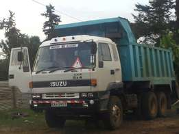 Isuzu CXZ Tipper. Local unit, Original engine, gearbox & diff.