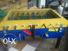 coin operated foozball table