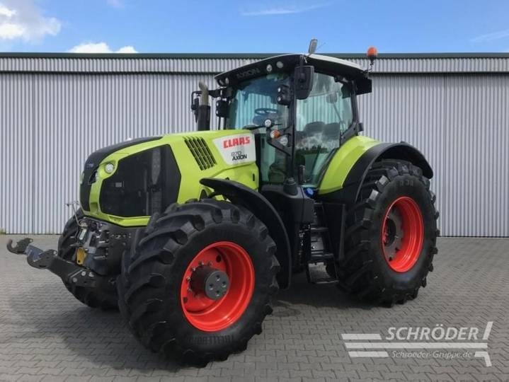 Claas axion 870 cmatic - 2016