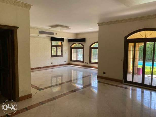 For rent Super lux finshied villa with pool in rehab مدينة الرحاب -  6