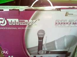 Wiress Microphones Max DH-744