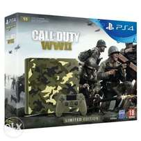 Limited Edition Call Of Duty WWII Playstation 4 Bundle