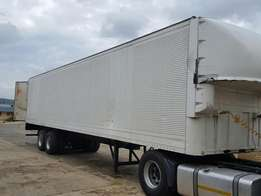 Double axle box trailer