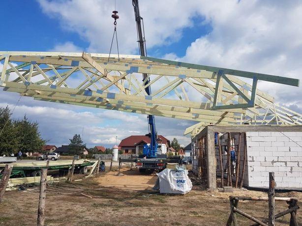 Cudowna Wiązary dachowe - gotowa więźba dachowa // konstrukcja dachowa MP39