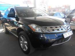 2006 Nissan Murano 3.5 auto for only R123000.