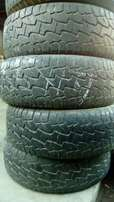 Hankook 255/55/19 Dynapro ATM tyres for sale x4