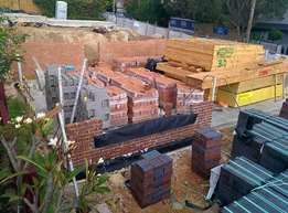 Clay Roof Tiles and Clear Bricks and Stone and PPC & Portland Cement's