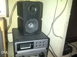 fairly used small one loader cd player with radio