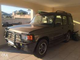 1996 Land Rover discovery V8 ES with Chevy 350 v8