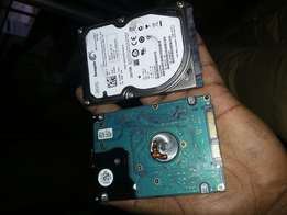 Laptop harddisks. 500gb. 750gb. Upgrade your laptop today.