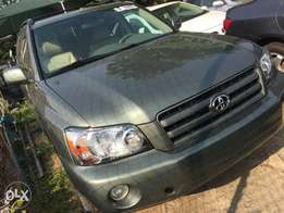 Toks accident free clean highlander