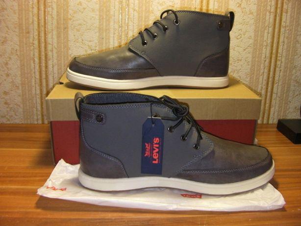 uk availability new images of new list Новые Ботинки Levi's Atwater Chukka Sneaker Серые Размер 43 / 27см ...