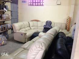 REAL Leather EX-UK sofas