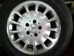 "16"" E.Class Mercedes mags and tyres"