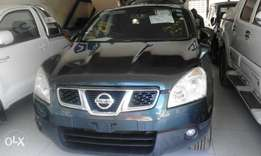 Metallic Gray Nissan dualis moon roof
