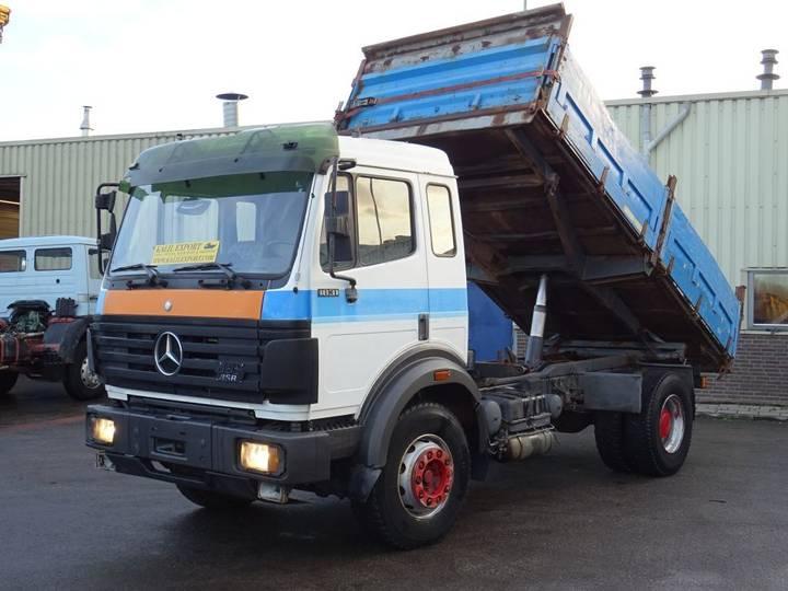 Mercedes-Benz 1831 Kipper V6 Big Axle Good Condition - 1992