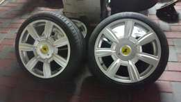 18 inch bentley mags for polo