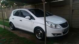Sporty Opel Corsa 1.4i to swop