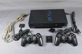 Playstation 2 fullset with 16gb flash and games of ur choice