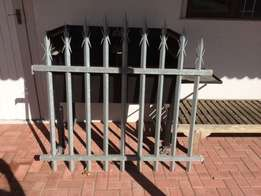 X13 Galvanized Palaside Fences selling as a job lot only