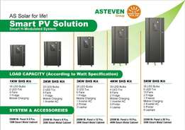 solar Auto Smart 1 - 5 KW H-modulated System