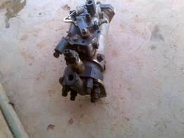 An almost new tractor injecta pump