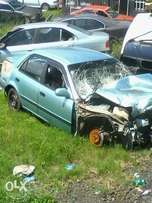 1997 Toyota corolla 160i accident damaged with papers
