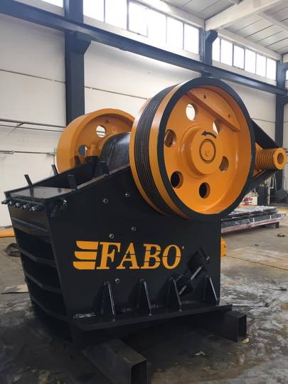 Fabo CLK SERIES 120-180 TPH PRIMARY JAW CRUSHER