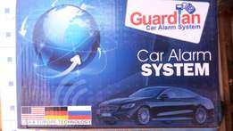 Car alarm GUARDIAN with engine immobilizer, Free installation.